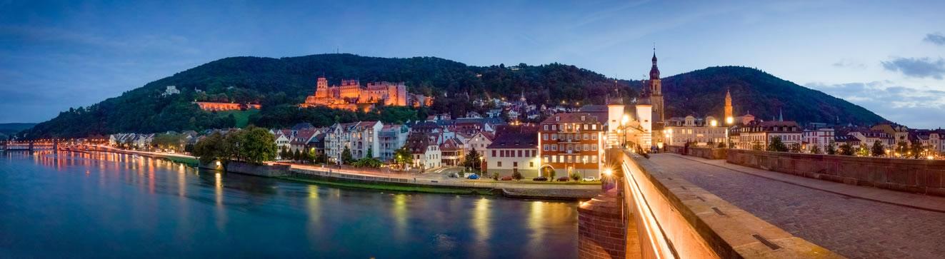 Postleitzahlen Heidelberg - Straßenliste und Stadtteile